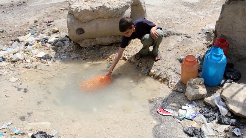 Syrien Wasser Aleppo Türkei