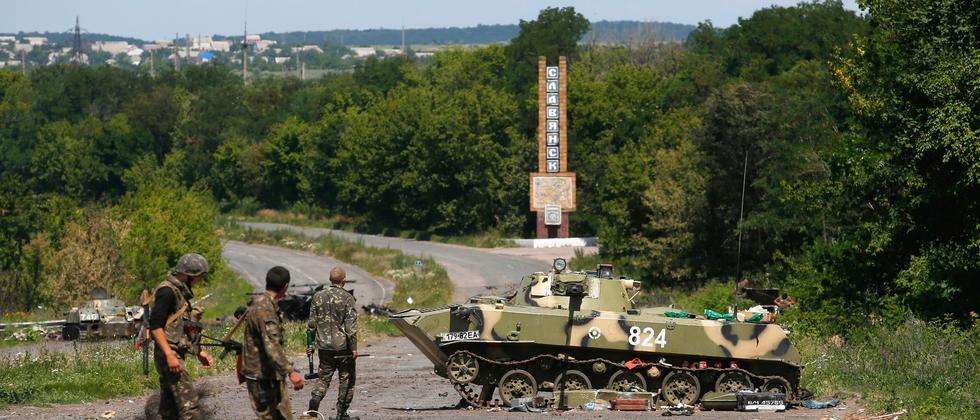 Ukraine Russland Beschuss
