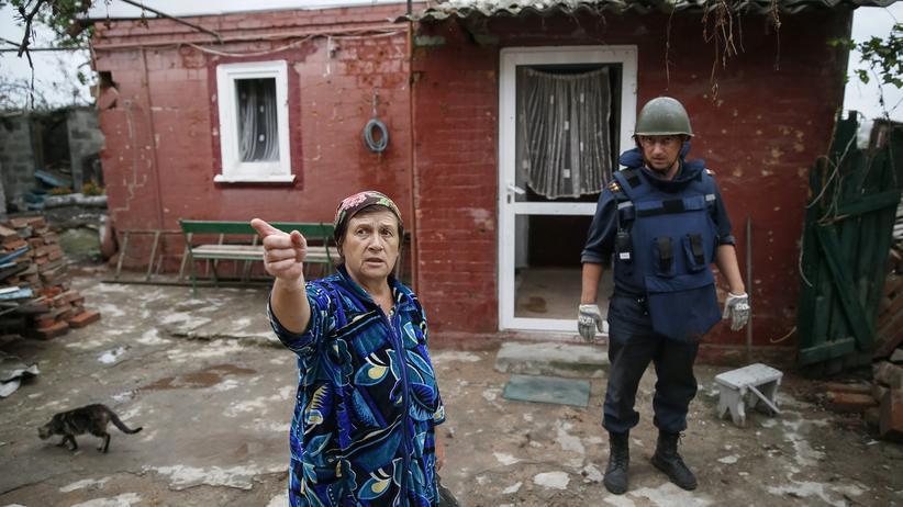 Ukraine-Krise: Alltag in Slowjansk, Ukraine
