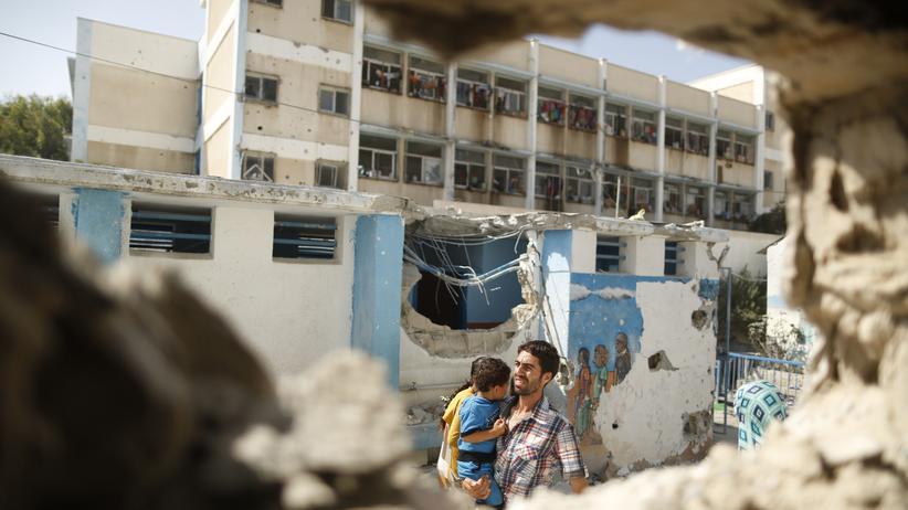 Nahost-Konflikt: UN-Schule im Gazastreifen