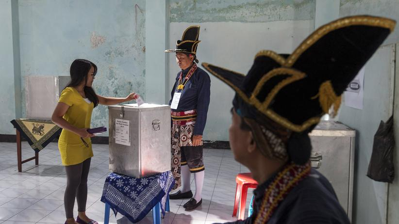 Indonesien: Widodo und Subianto erklären sich jeweils zum Wahlsieger