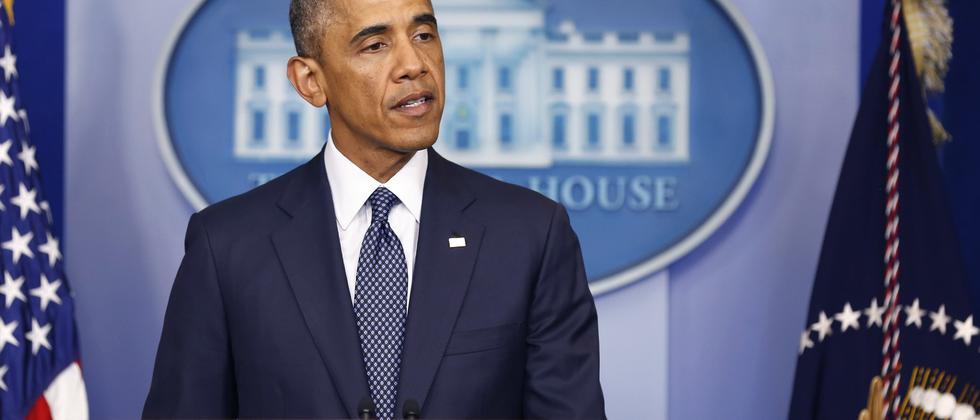 US-Präsident Barack Obama will russische Firmen bestrafen