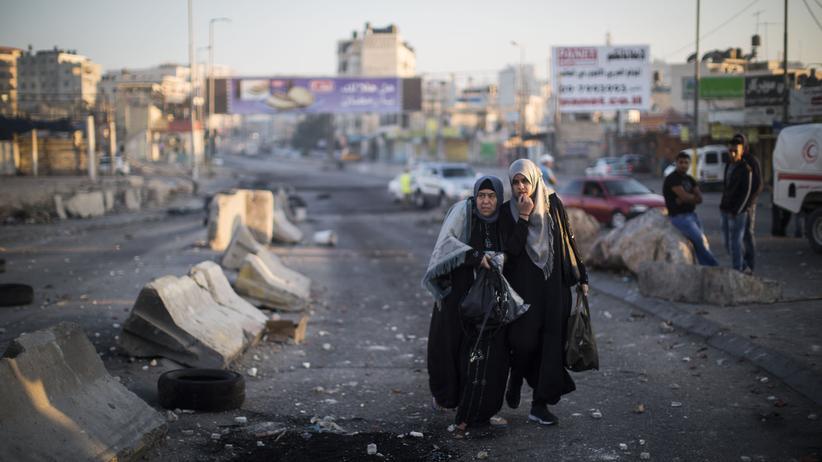 Westjordanland Israel Konflikt