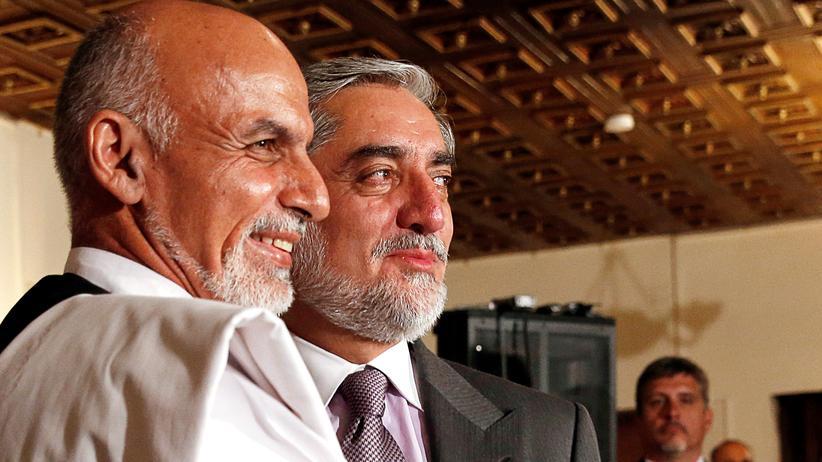 Afghanistan: Präsidentschaftskontrahenten einigen sich auf Einheitsregierung