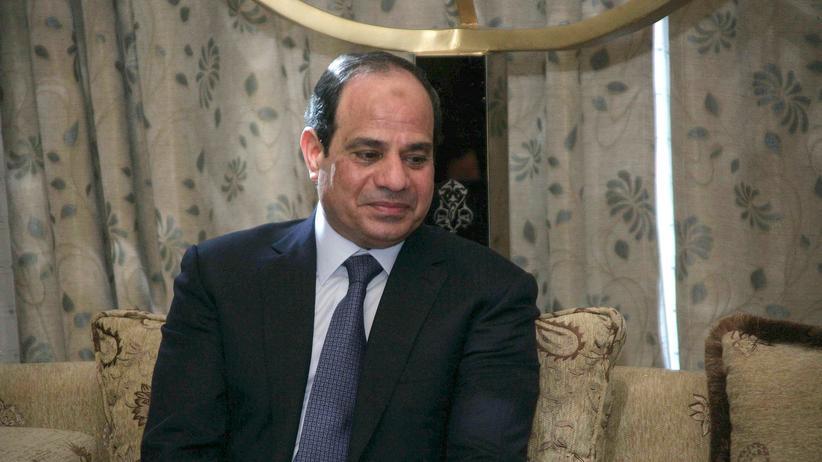 Nahost-Konflikt: Ägyptens Präsident Abdel Fattah al-Sissi