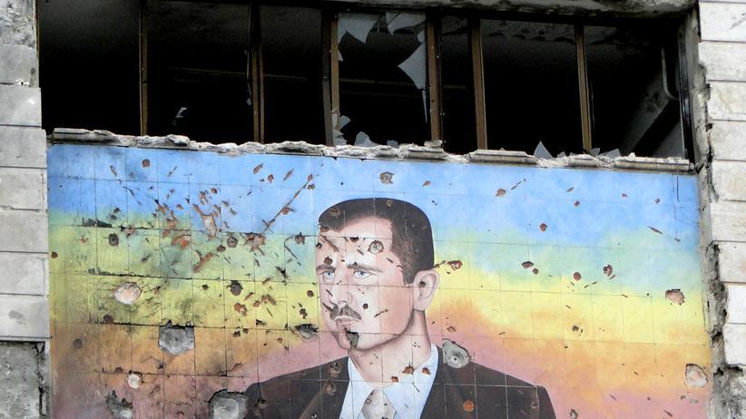 Assad Syrien IS