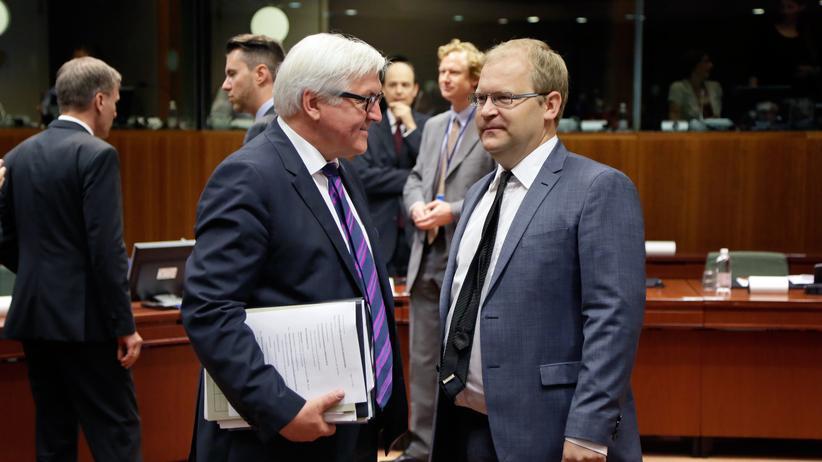 Außenministertreffen Brüssel Steinmeier Paet