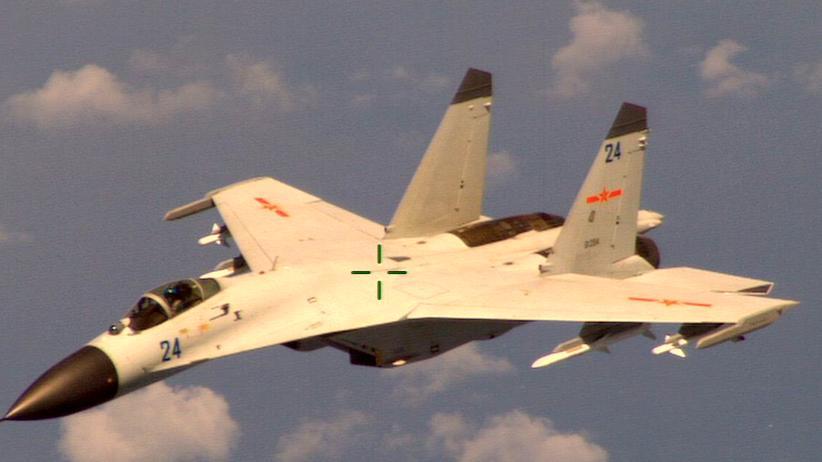 Chinesisches Kampflugzeug