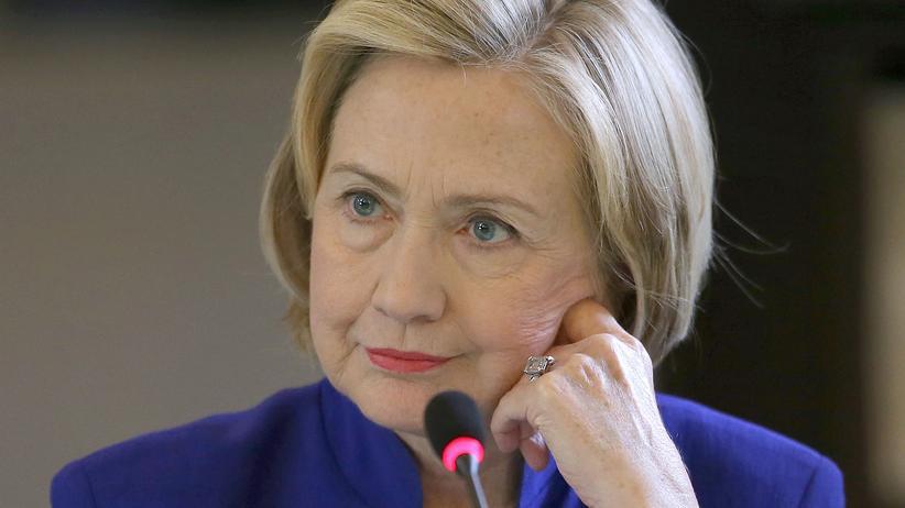 Geheimdienste: Die frühere US-Außenministerin Hillary Clinton