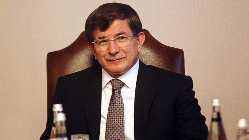 Ahmet Davutoğlu, türkischer Außenminister