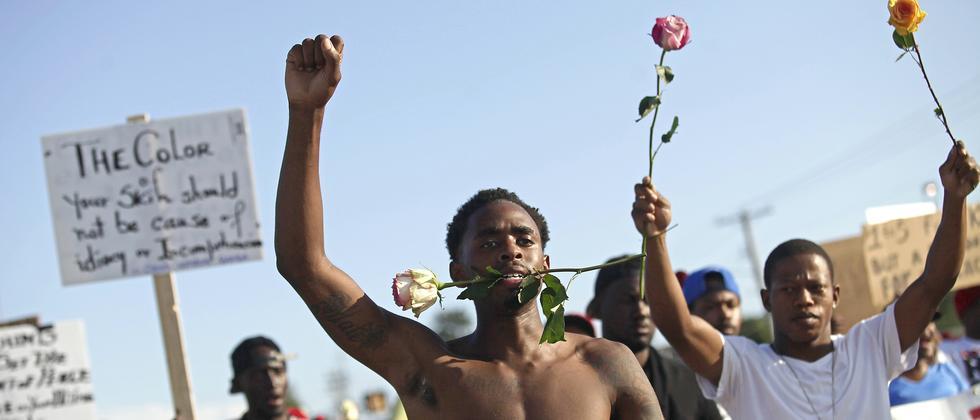 Ferguson Demonstranten USA