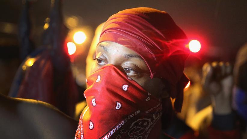 USA: Ein Demonstrant in Ferguson niedergeschossen