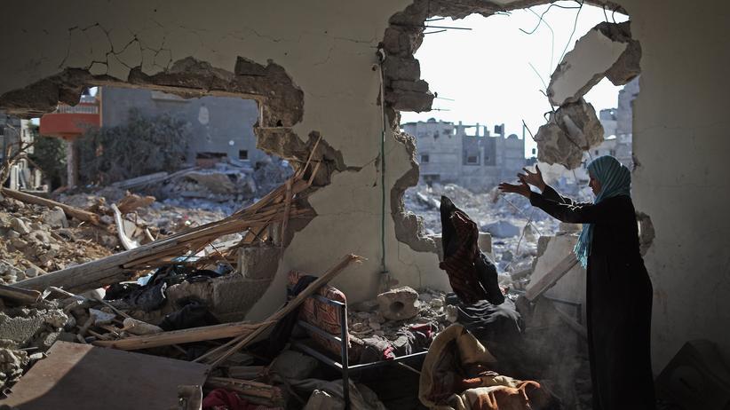 Nahost-Konflikt: Zerstörung im Gazastreifen