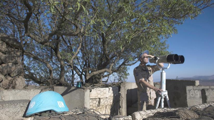 43 Blauhelmsoldaten auf dem Golan verschleppt