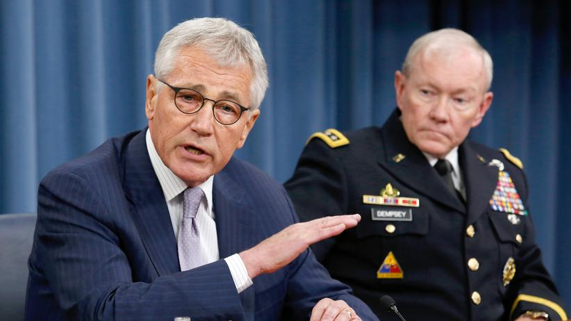IS USA Chuck Hagel Martin Dempsey