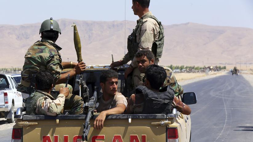 Irak Jesiden Flüchtlinge
