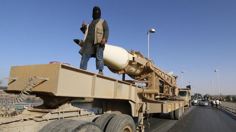 Jesiden: Ein IS-Kämpfer in Syrien