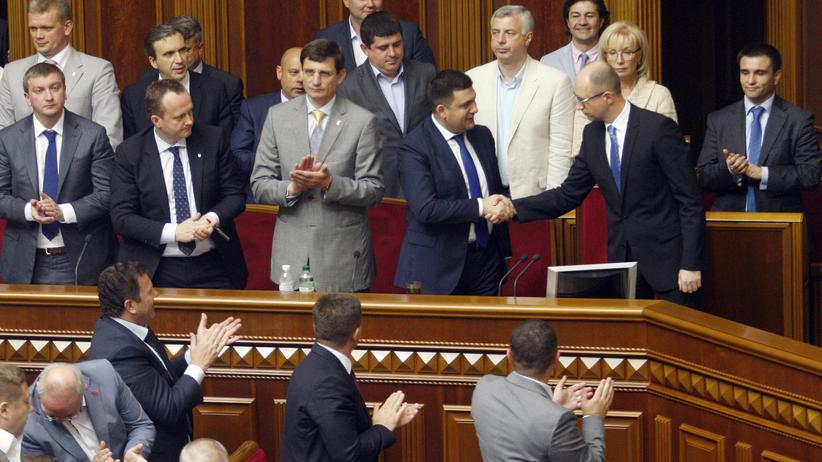 Ukrainisches Parlament