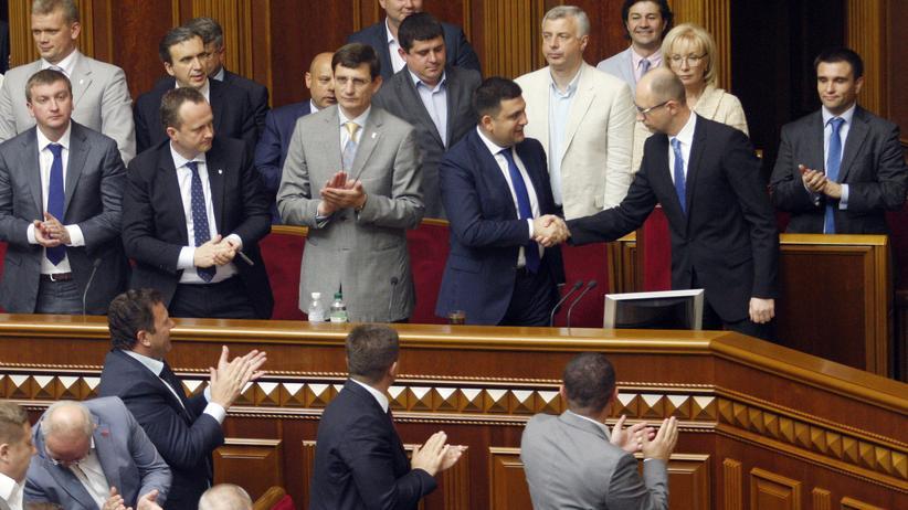 """Ukraine: Abschied vom """"Kamikaze-Kabinett"""""""