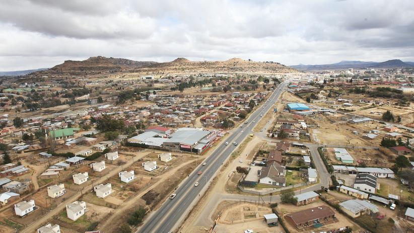 Lesotho MIlitär Putsch Maseru