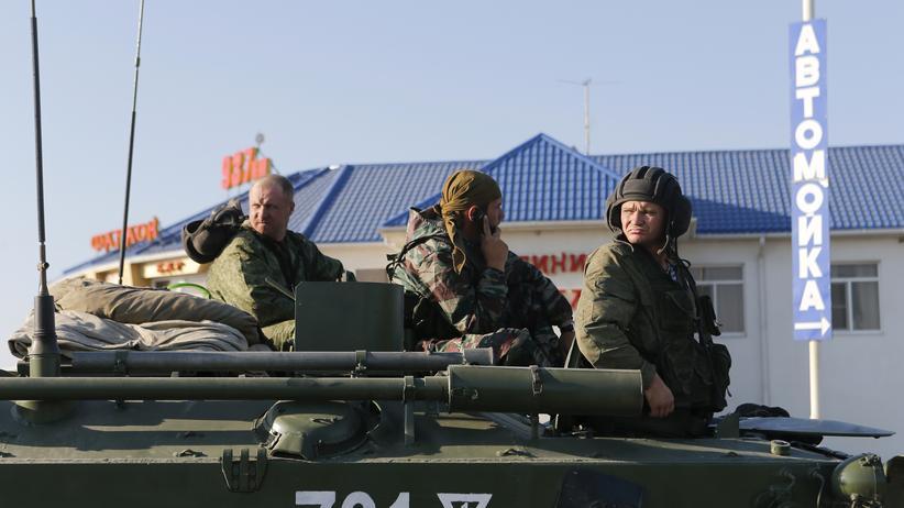 Ukraine: Ukrainisches Militär bestätigt Eindringen russischer Militärkolonne