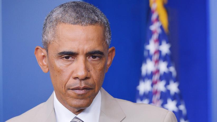 IS-Terror: US-Präsident Barack Obama am 28. August 2014