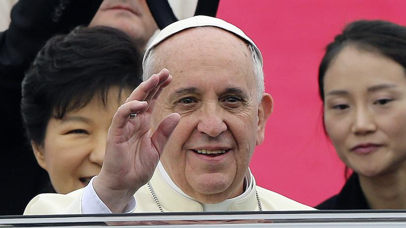 Papst in Korea: Franziskus soll Korea heilen