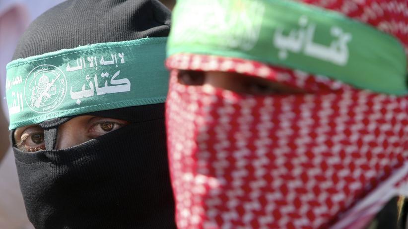 Kämpfer der Kassam-Brigaden
