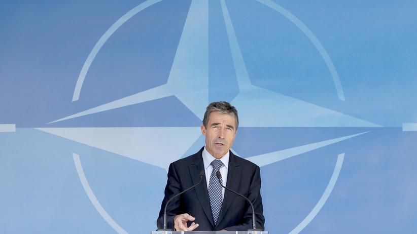 Ukraine-Krise: Nato-Generalsekretär Anders Fogh Rasmussen