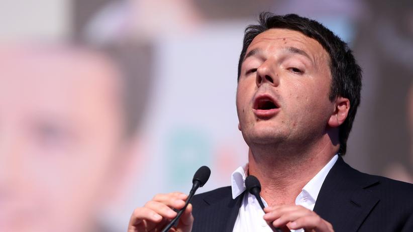 Matteo Renzi: Italiens Regierungschef Matteo Renzi