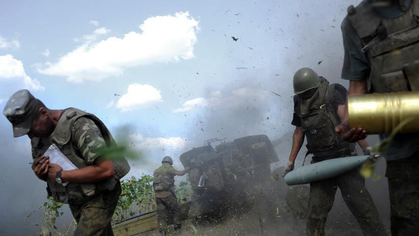 Russland Truppen Ukraine Krise