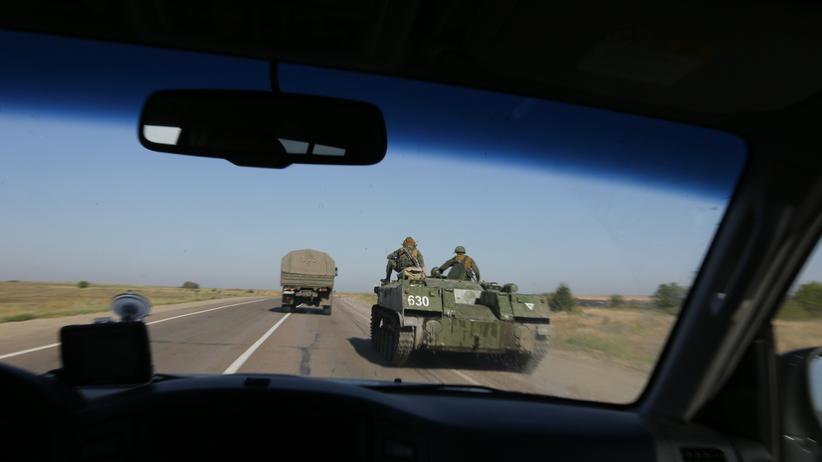 Russland Truppen Ukraine Krise Invasion