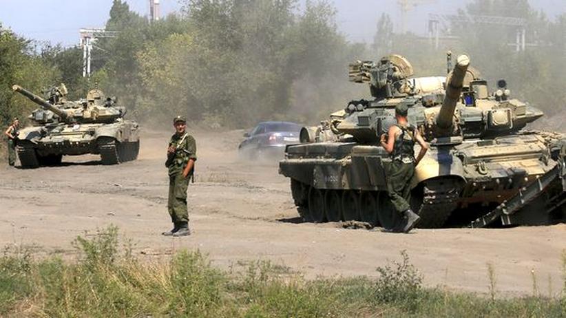 Russland: Nato spricht von russischer Unterstützung für ukrainische Separatisten