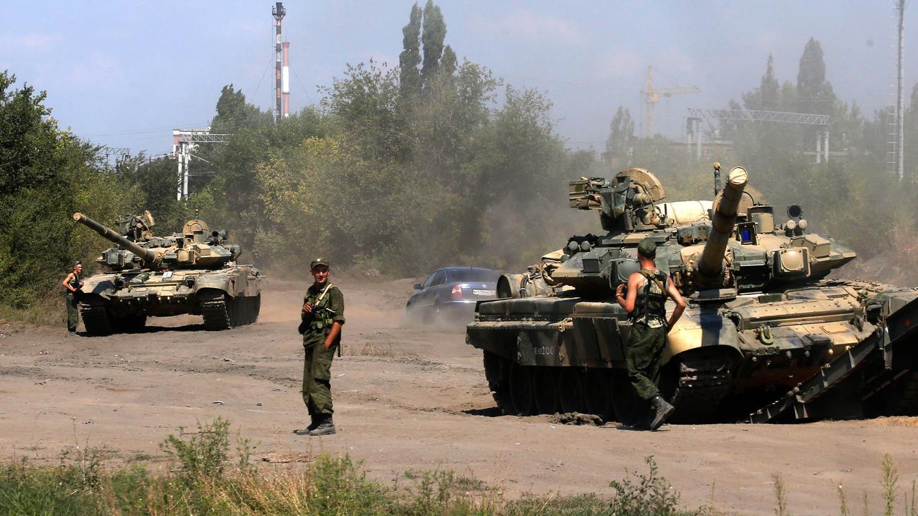 Russische Panzer Ukraine