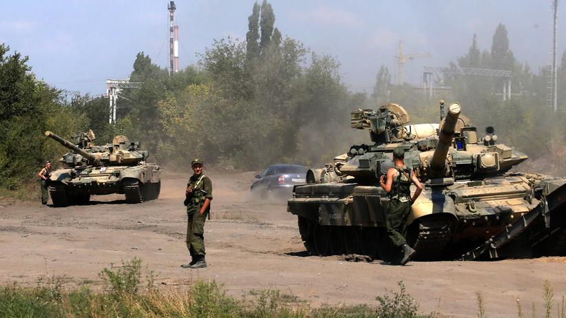 Ukraine: Angeblich russische Panzer rücken gegen Mariupol vor