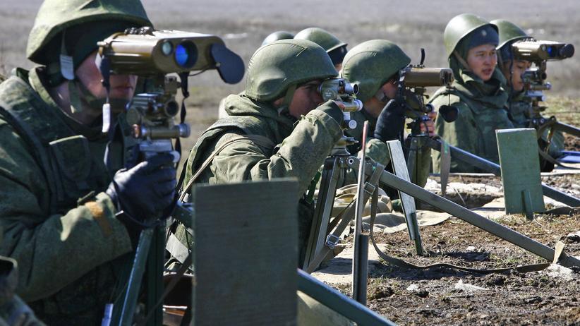 Ukraine-Krise: Russland verdoppelt Truppen an ukrainischer Grenze