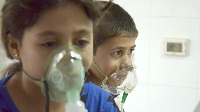 Syrien Chemiewaffen UN-Bericht