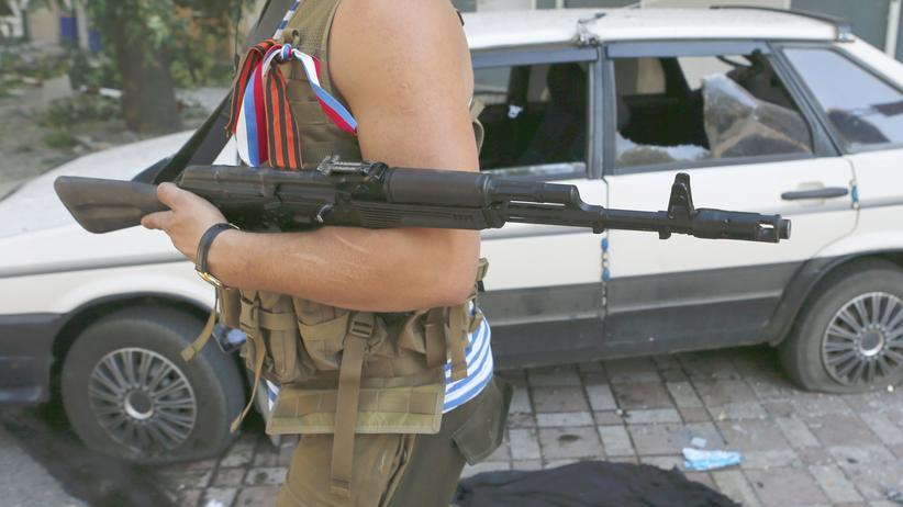 Ukraine-Krise: Separatistenführer erklärt kämpfende Russen zu Freizeitsoldaten