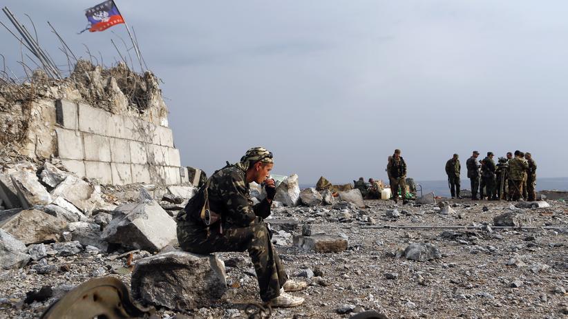 Ukraine Russland Militärischen Intervention