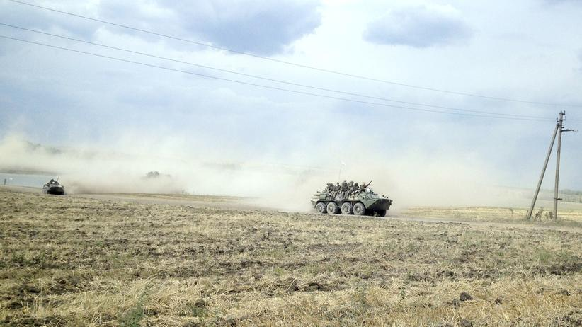 Ukraine Russland Panzer Krasnodarovka