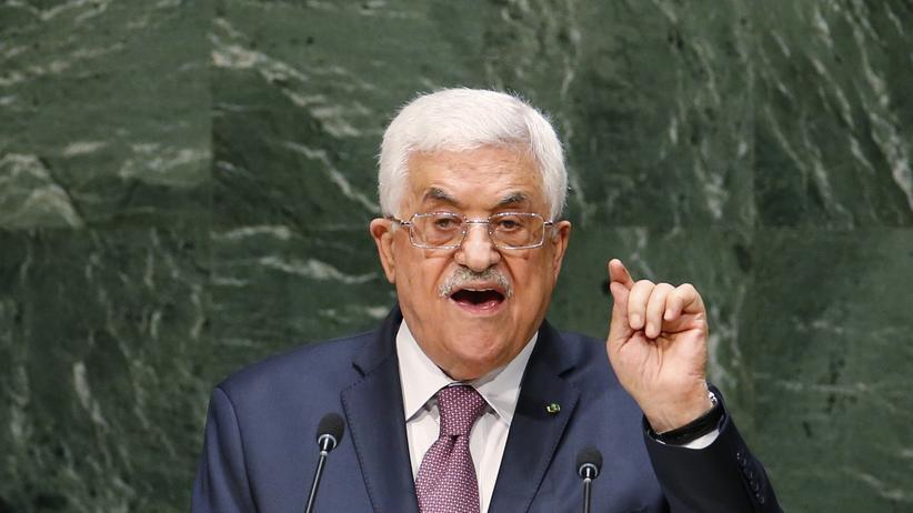 Nahost-Konflikt: Abbas verärgert Israel und die USA