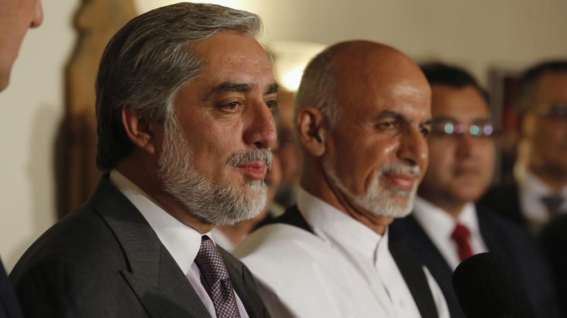 Afghanistan: Zerstrittene Präsidentschaftskandidaten einigen sich