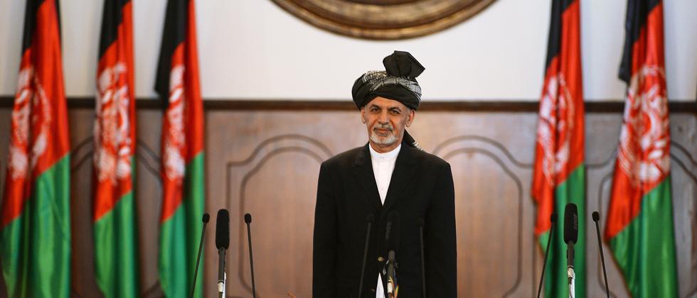 Afghanistan Ghani