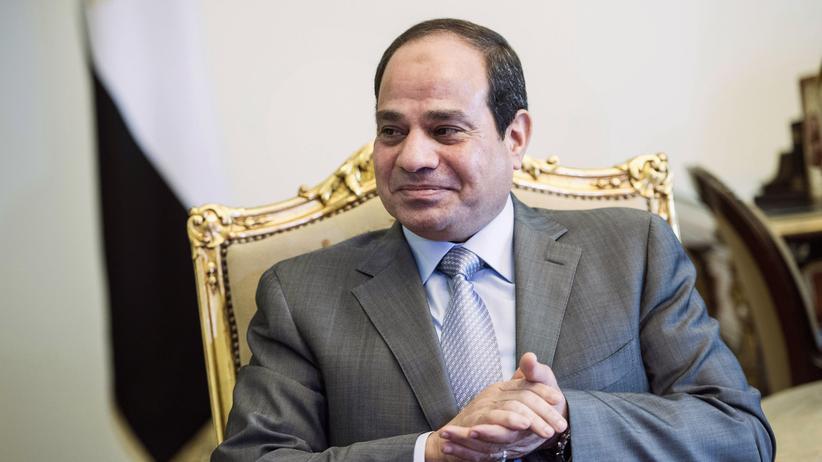 IS-Terror: Ägyptens Präsident Abdel Fattah al-Sisi bei einem Treffen mit US-Außenminister Kerry