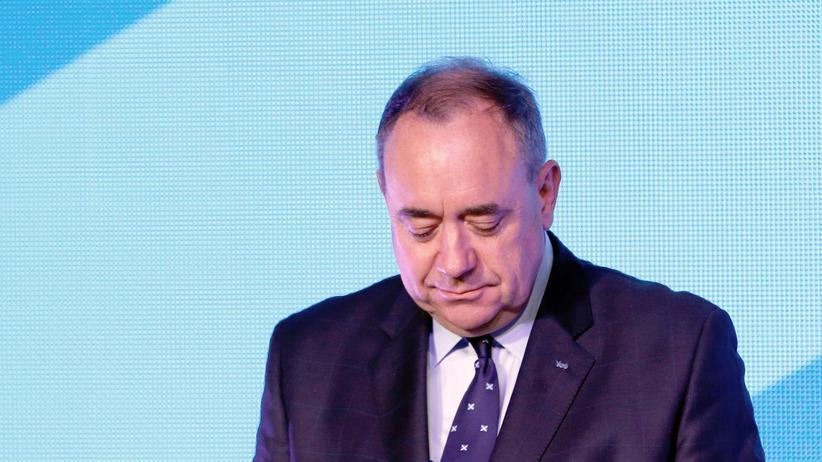 Schottlands Premier Alex Salmond