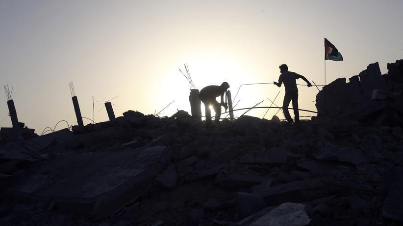 Aufräumarbeiten im Gazastreifen