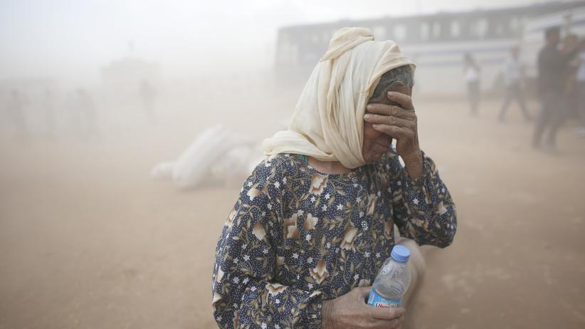 Flüchtlinge Luftangriffe Syrien