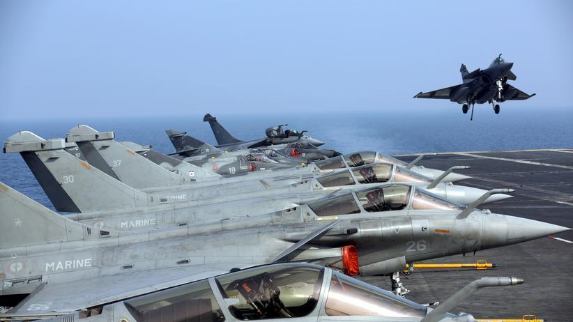 Französische Luftwaffe zerstört IS-Depot im Irak