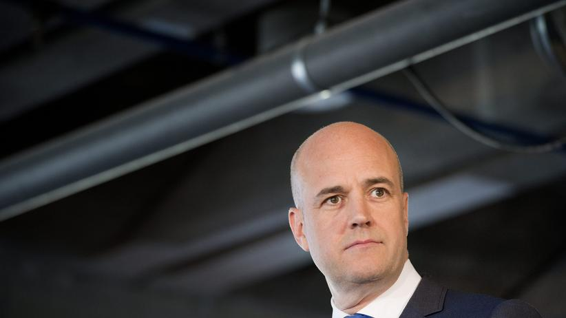 Schweden: Schwedens Ministerpräsident Fredrik Reinfeldt