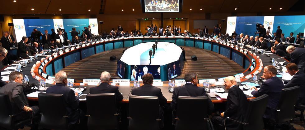 Delegierte bereiten sich auf das G20-Treffen in Cairns vor.
